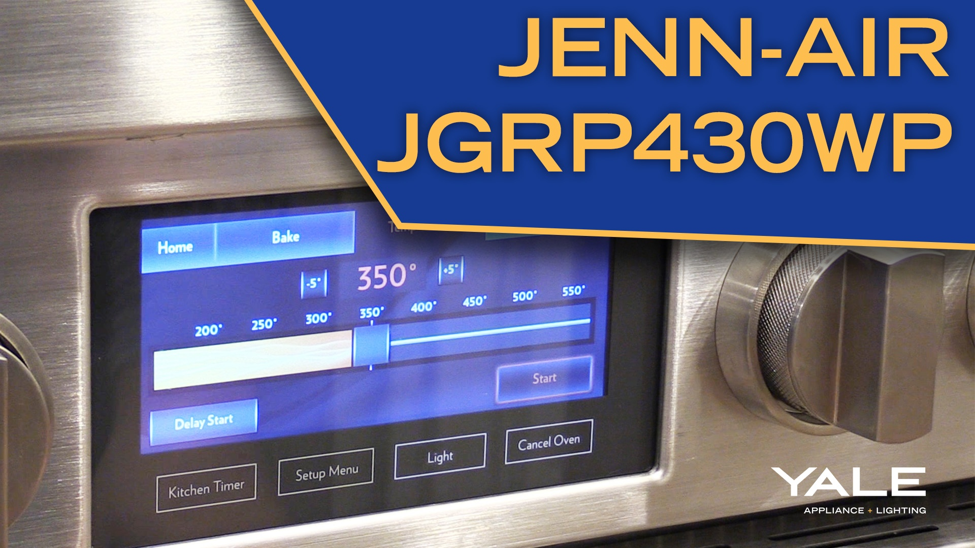 "Wistia video thumbnail - Jenn-Air JGRP430WP 30"" All Gas Pro Range Review"
