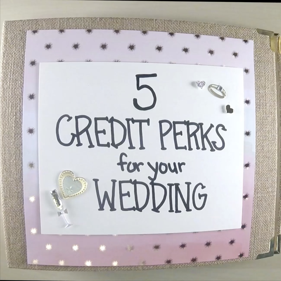 6 reasons to put all your wedding expenses on one credit card