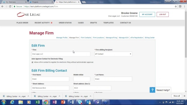 Wistia video thumbnail - Billing Center - How to update your billing contact information