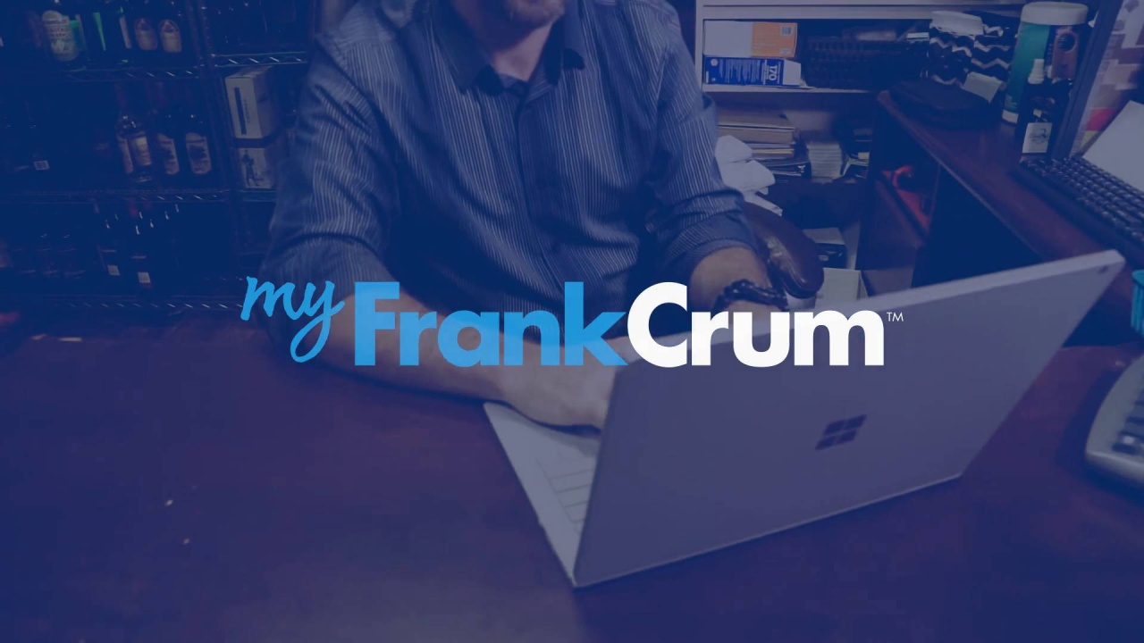 MyFrankCrum Commercial