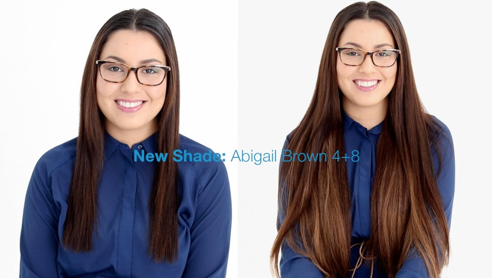 How To Apply A New Shade Using Hair Extensions Estelles Secret