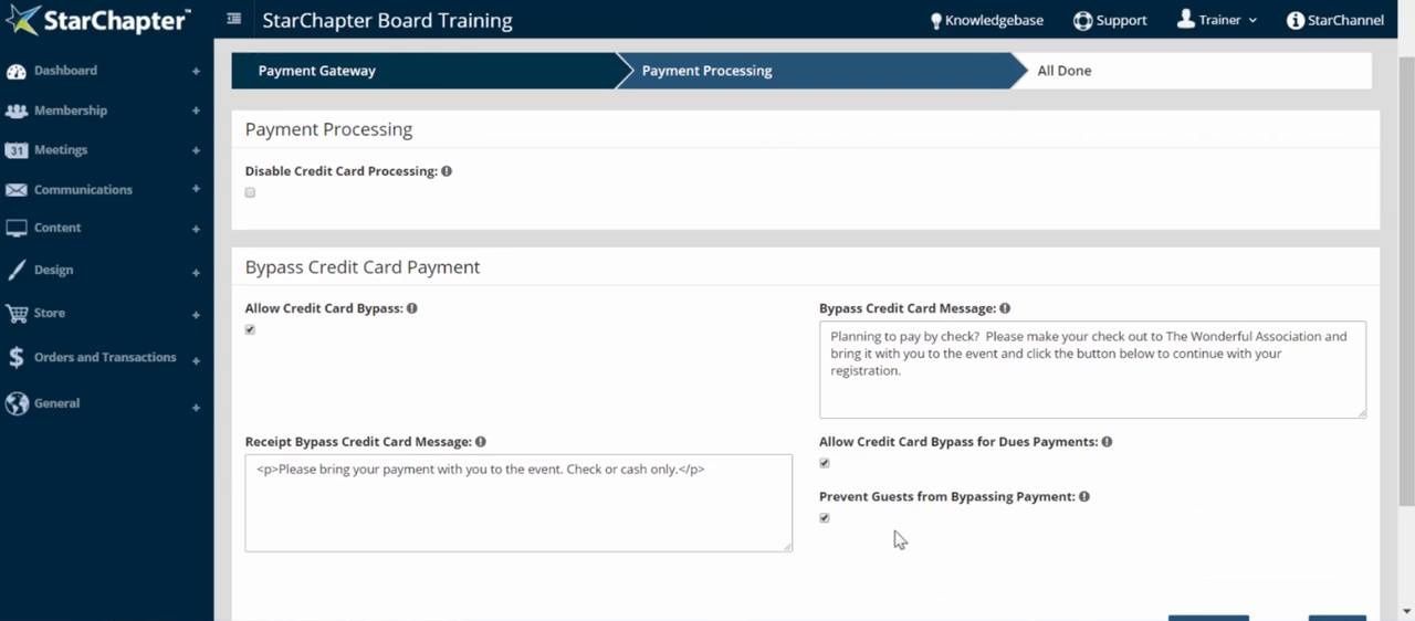 Connecting Your Payment Gateway