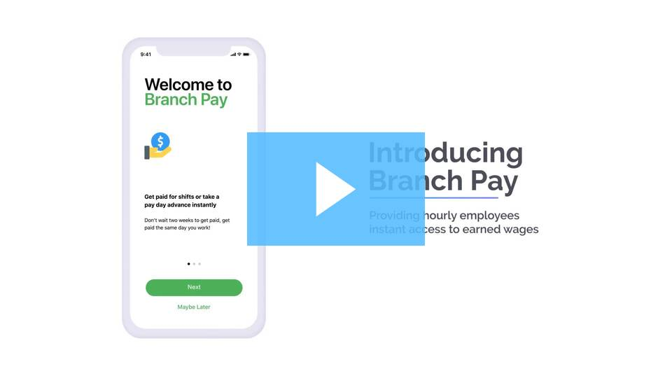 Introducing Branch Pay