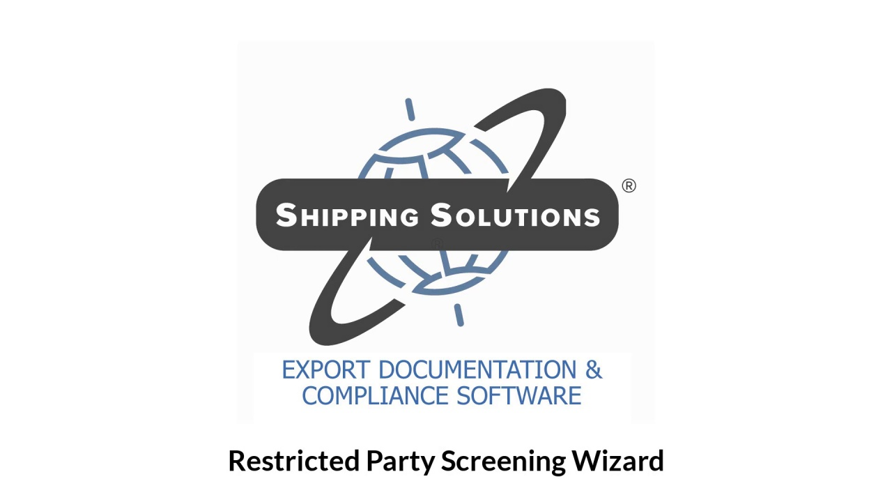 Wistia video thumbnail - NEW Restricted Party Screening
