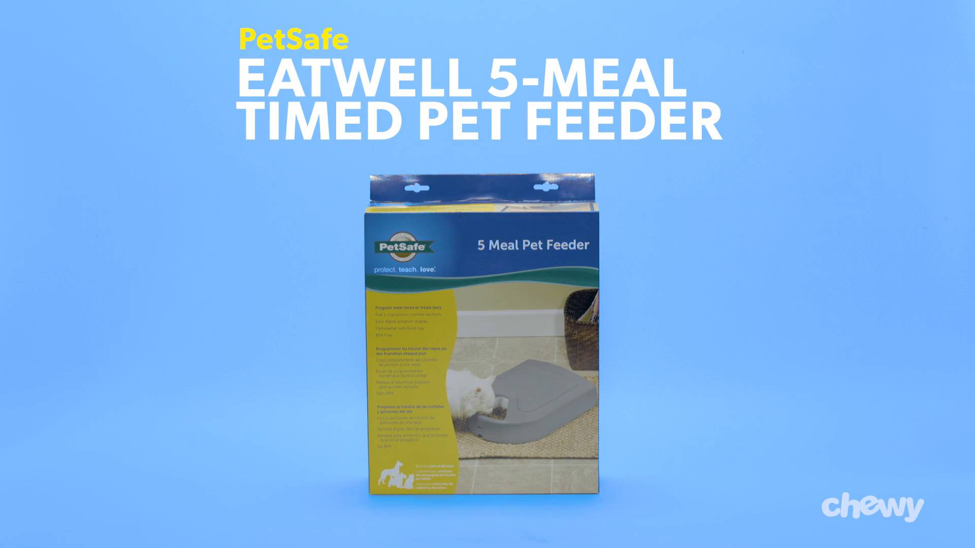 petsafe pet feeder meal automatic eatwell naturalpets