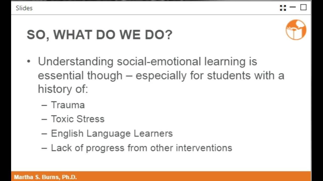 Video On Impacts Of Trauma On Learning >> Webinar Effects Of Poverty On School Success Neuron Learning