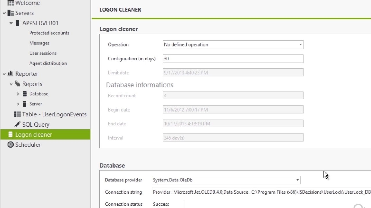 Cleaning the Windows Session Logon Events History