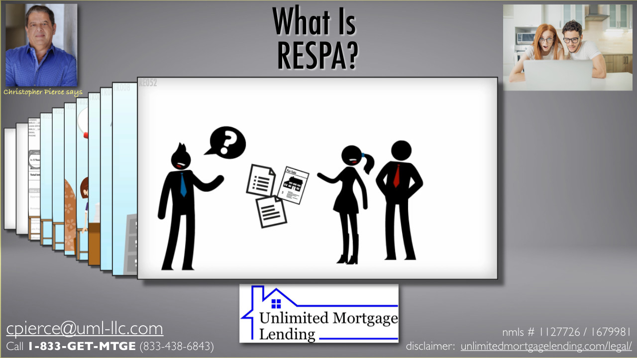What Is RESPA? Unlimited Mortgage Lending