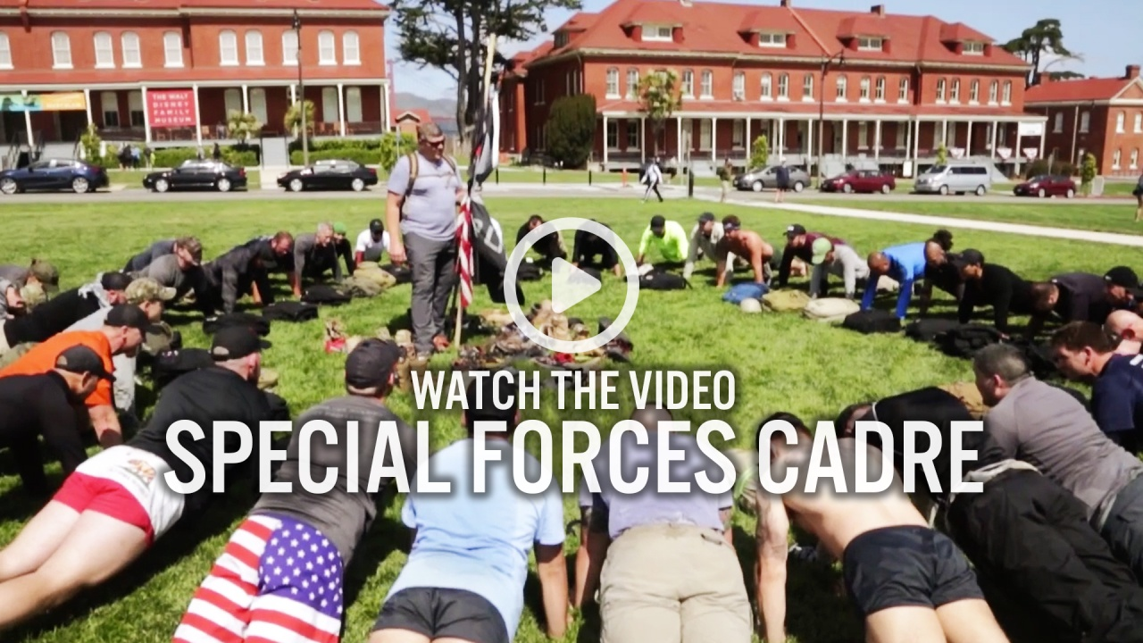 Special Forces Cadre Goruck