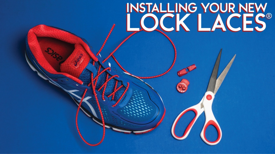 e41c8587d6dc Lock Laces® Installation Instructions for our No-Tie Laces