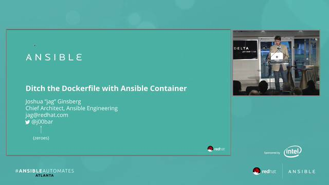 ansible and docker