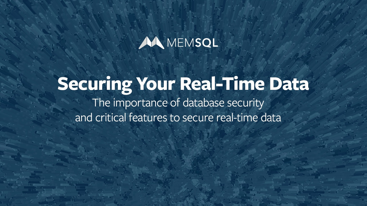 Data Security Database And Application Secure Your Real Time