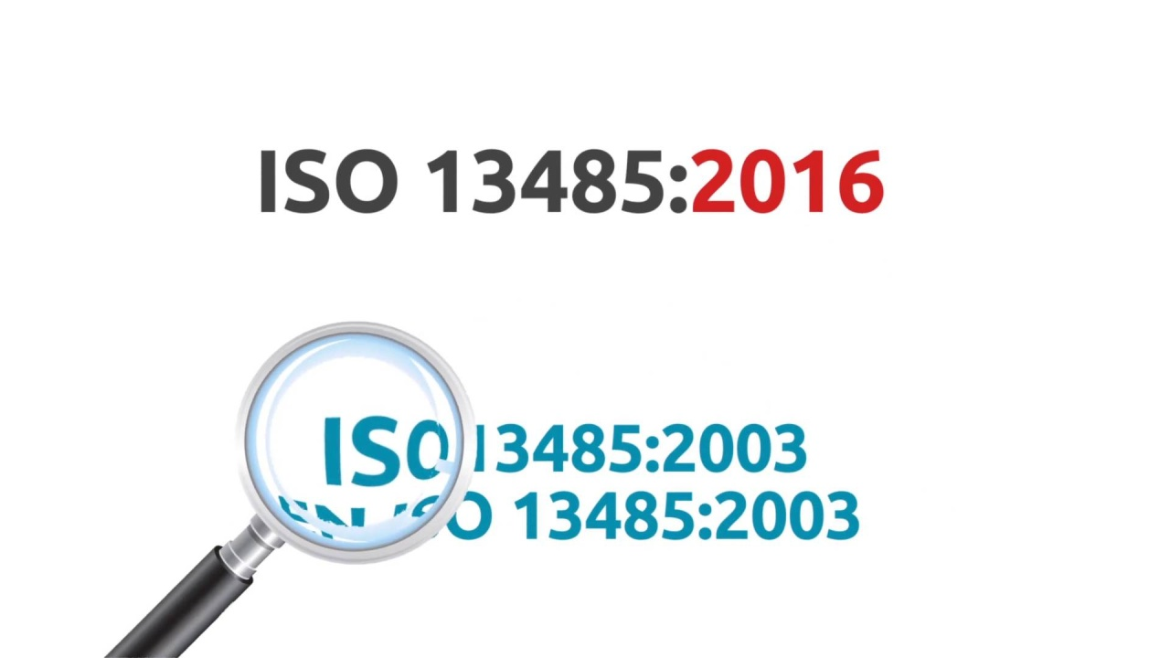 iso 13485 2016 six key differences for medical device companies