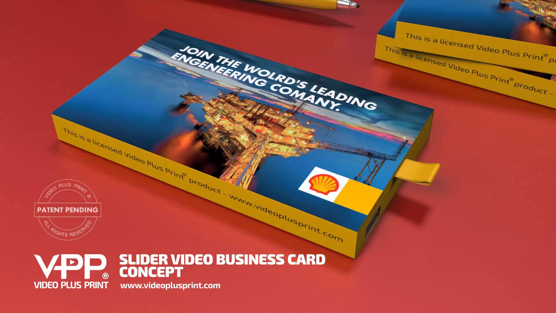 Video business cards video ads card reheart