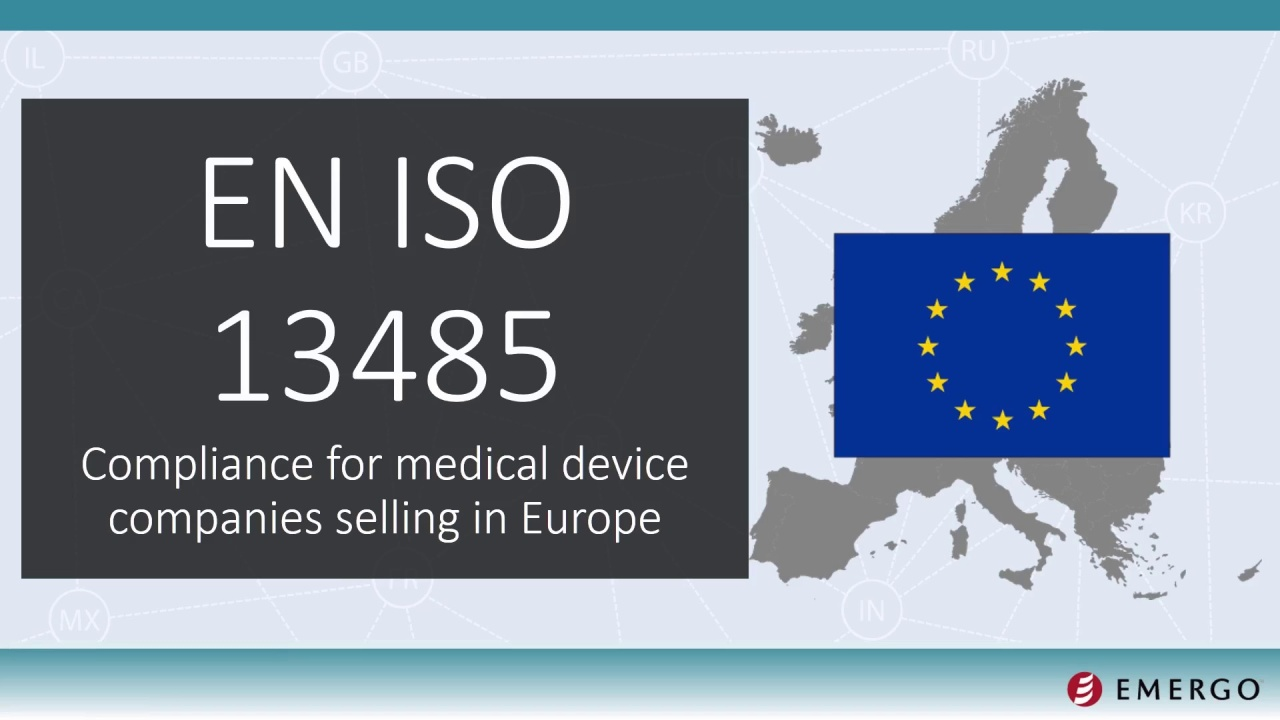 introduction to iso 13485 compliance for europe