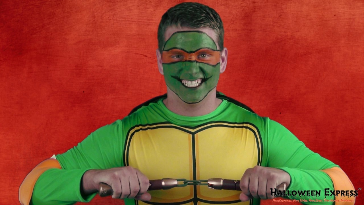 d96c2b65 How to Paint on a Mask for the Teenage Mutant Ninja Turtles Look ...