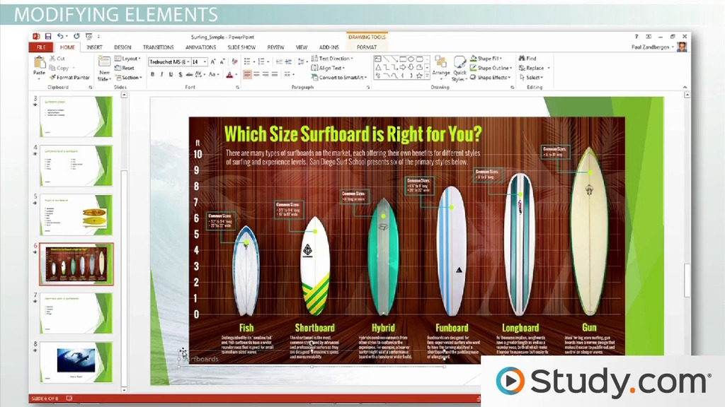 how to add and format slide numbers headers and footers in