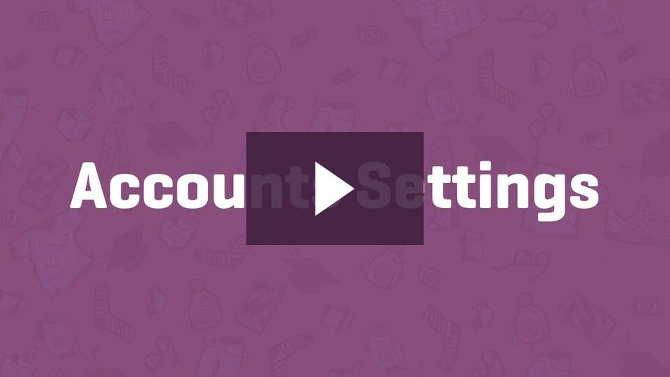 WooCommerce Account and Email Settings