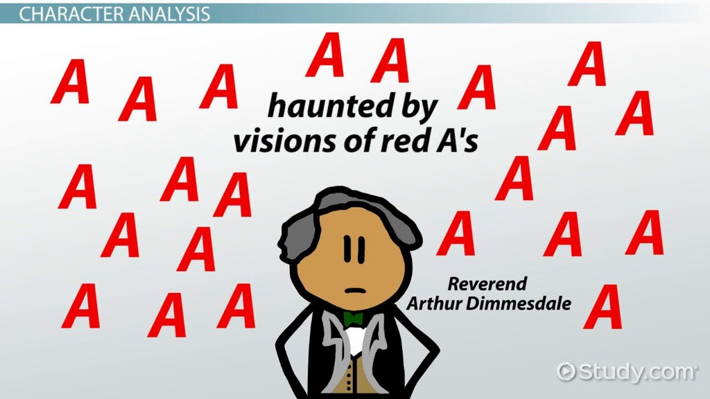 arthur dimmesdale in the scarlet letter: character analysis