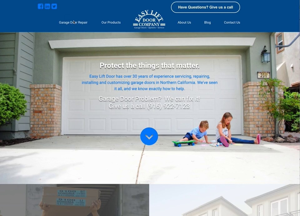 Website Results for Easy Lift Door Company