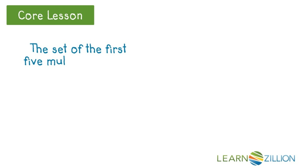 Find The Least Common Multiple Of Two Numbers Learnzillion
