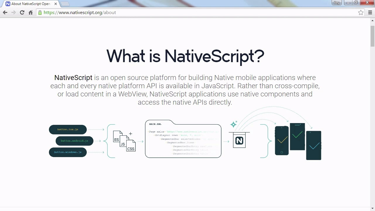 What Is NativeScript?