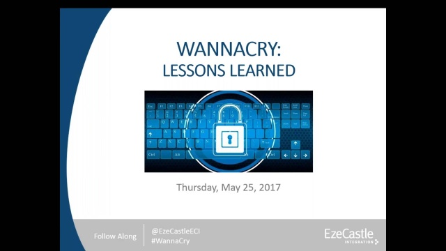 Wistia video thumbnail - WannaCry_ Lessons Learned