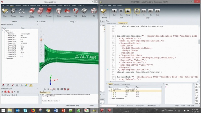 Using Altair Compose Calculations & Scripts to Improve and