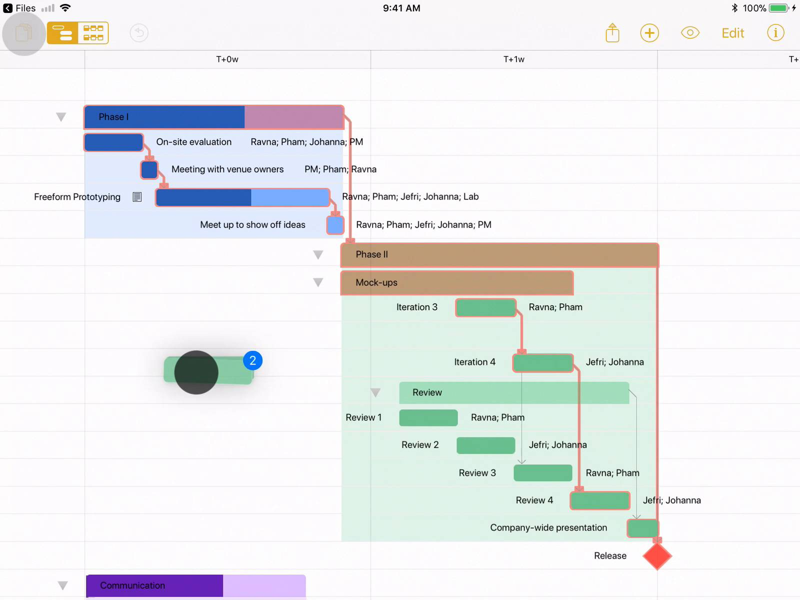 Omniplan project management for mac iphone and ipad the omni omniplan project management for mac iphone and ipad the omni group nvjuhfo Images