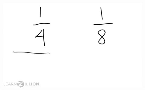 Compare fractions with the same numerator: using the greater than ...