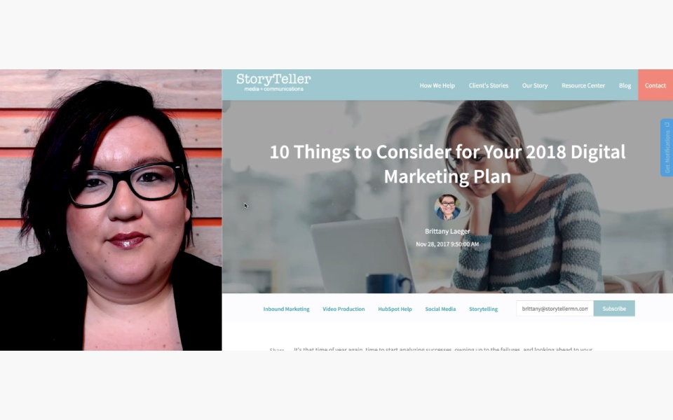 Wistia video thumbnail - 10 Considerations for Your 2018 Digital Marketing Plan