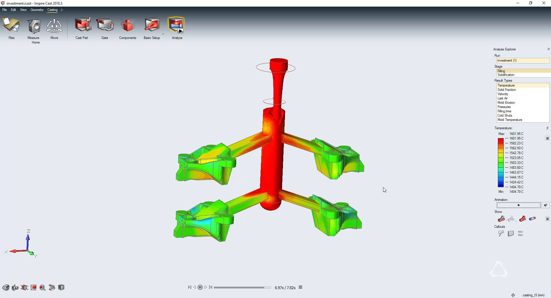 Altair Inspire Cast Streamlined Casting Simulation Software