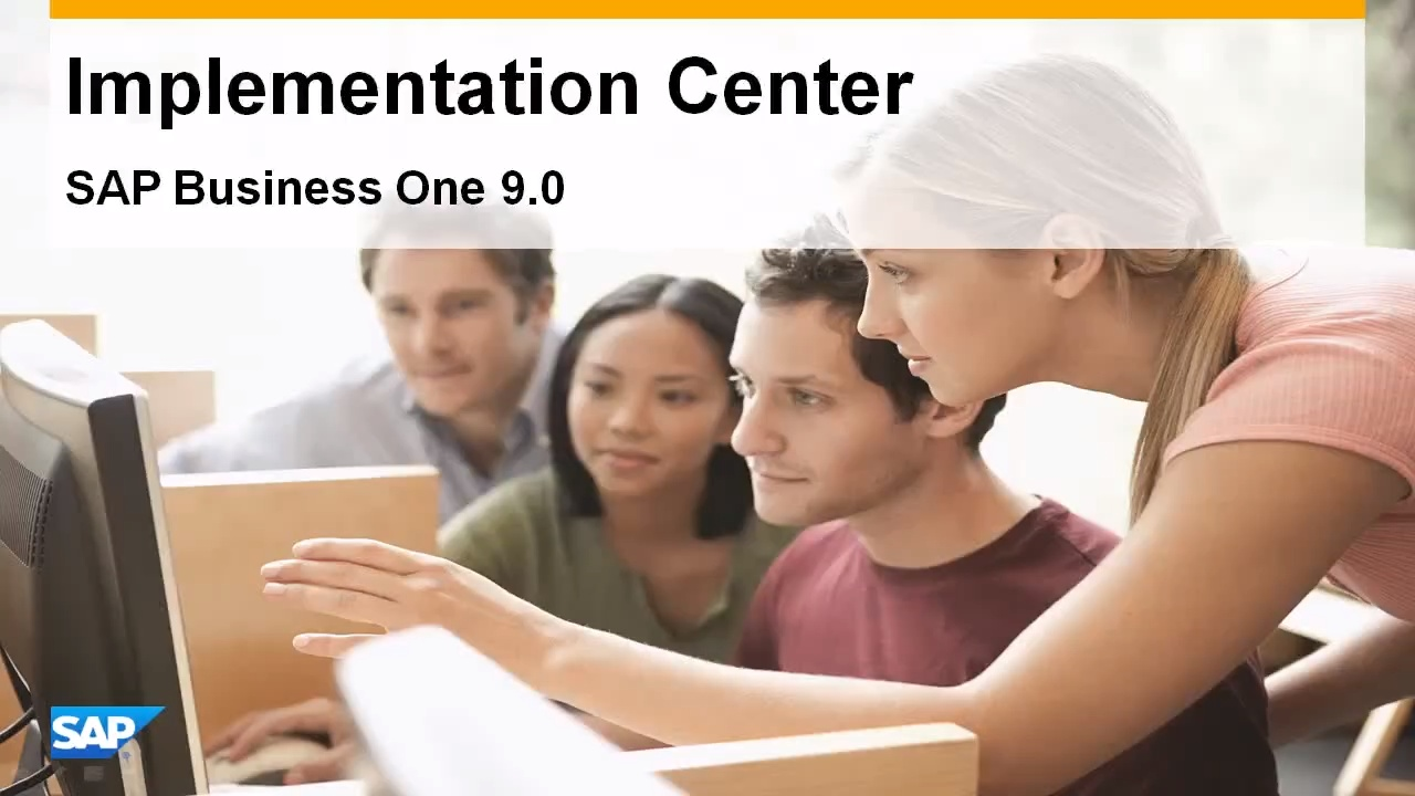 Implementation Center in SAP Business One 9 0 - Feature Clip