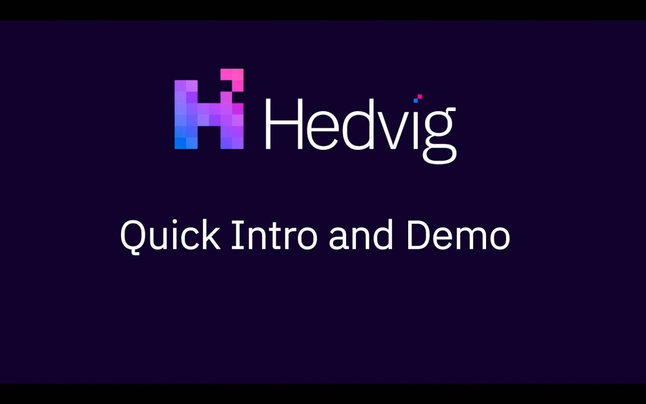 Demo Video - 10 minute Hedvig Overview