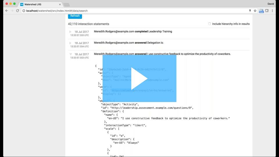 Watch this video for a comprehensive look at Watershed Data Search and Error Log.
