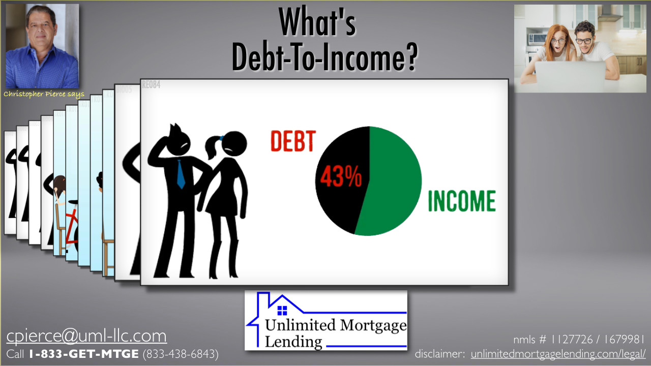 What Is The Debt-To-Income Ratio (DTI)? Unlimited Mortgage Lending