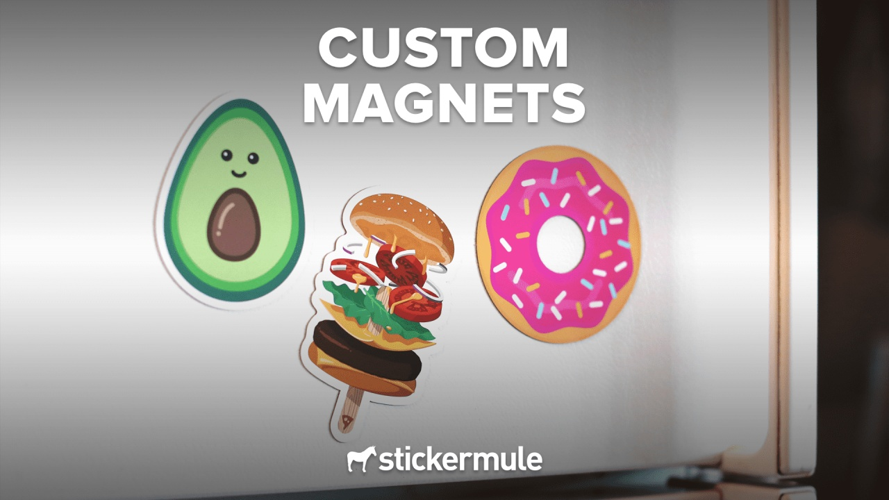 How to order custom magnets