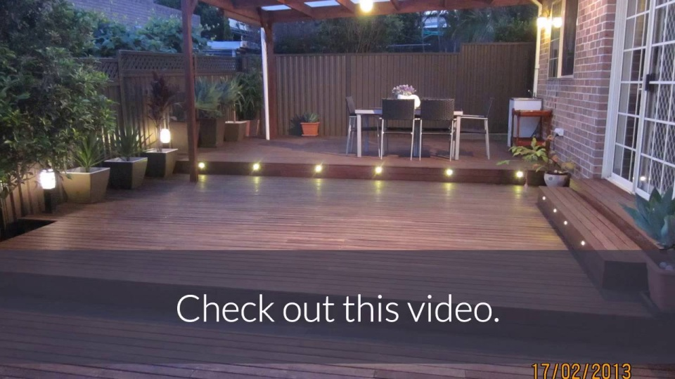 Led deck lights quick and easy to install led deck lighting choose your deck light kit immediately below here with the drop down bar aloadofball Images