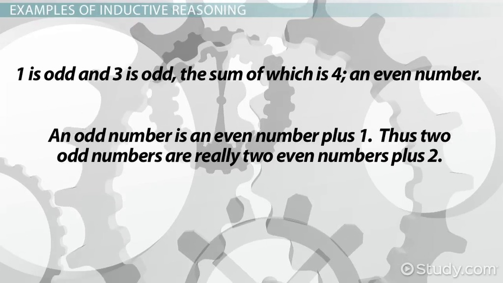Reasoning in Mathematics Inductive and Deductive Reasoning – Inductive Vs Deductive Reasoning Worksheet
