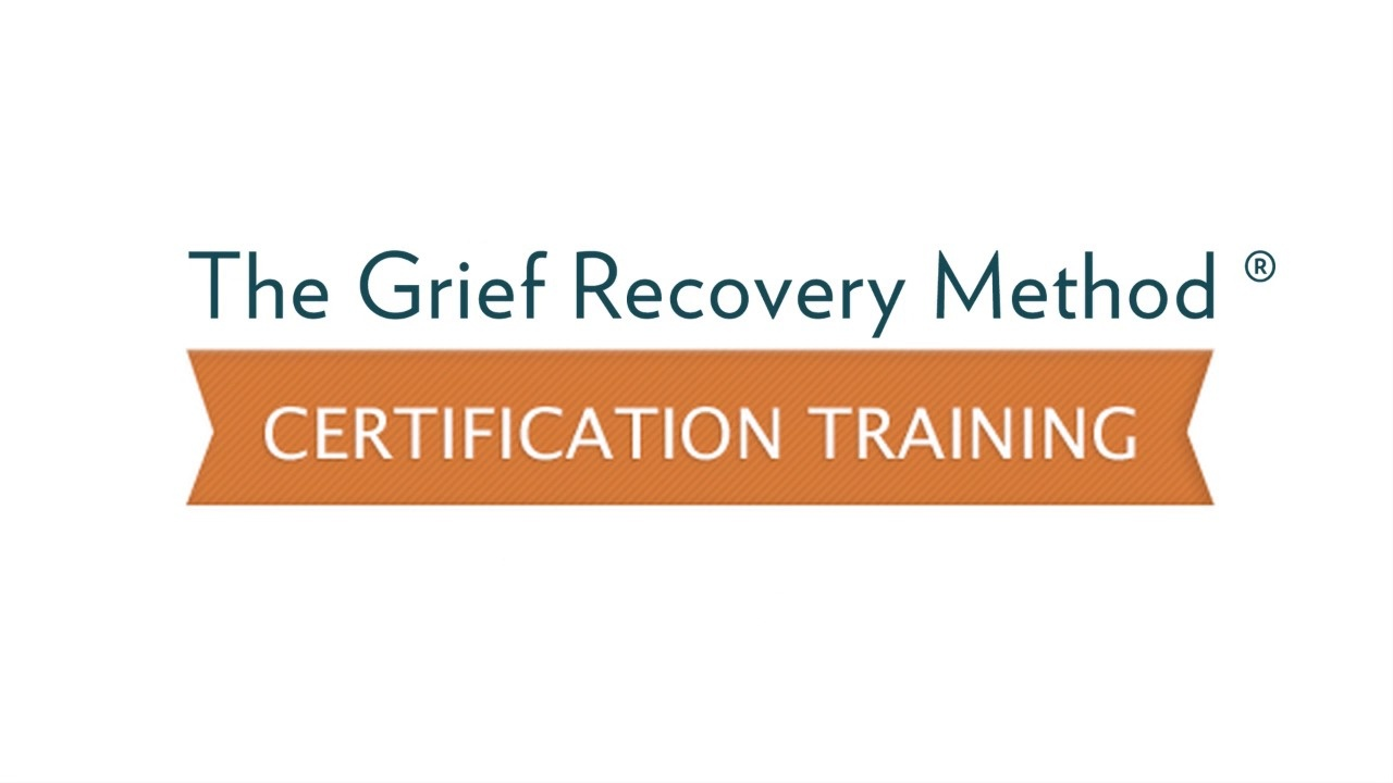 Certification Training The Grief Recovery Method