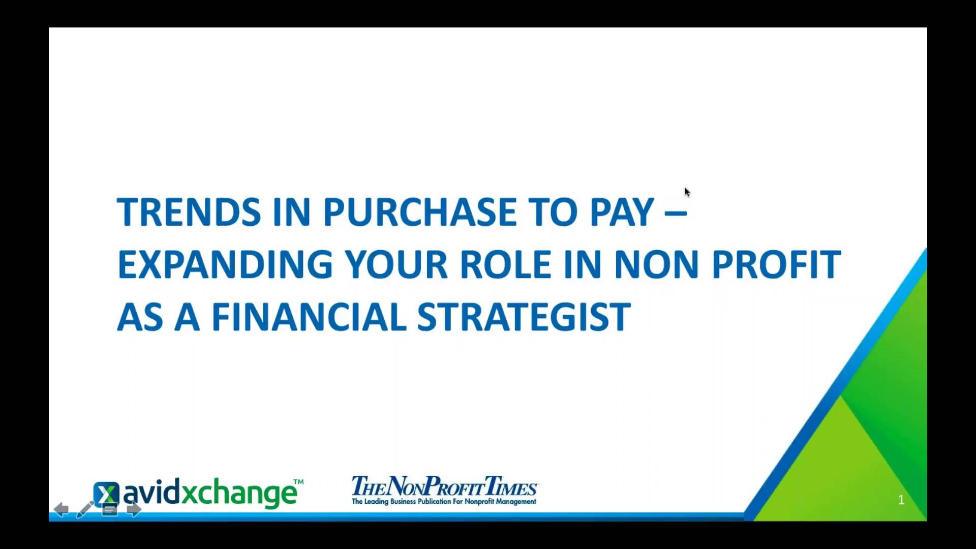 Trends in purchase to pay for non profit expanding your role as trends in purchase to pay for non profit expanding your role as a financial strategist avidxchange fandeluxe Choice Image