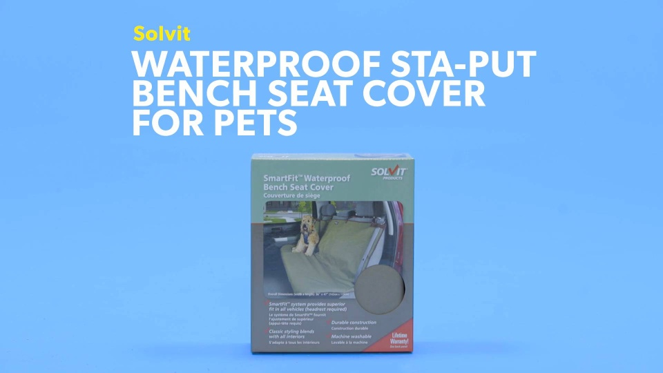 Phenomenal Solvit Waterproof Sta Put Bench Seat Cover Chewy Com Ibusinesslaw Wood Chair Design Ideas Ibusinesslaworg