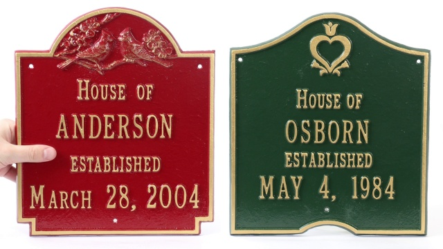 92a8882531c0 Address Plaques & House Number Plaques | Easy to Design