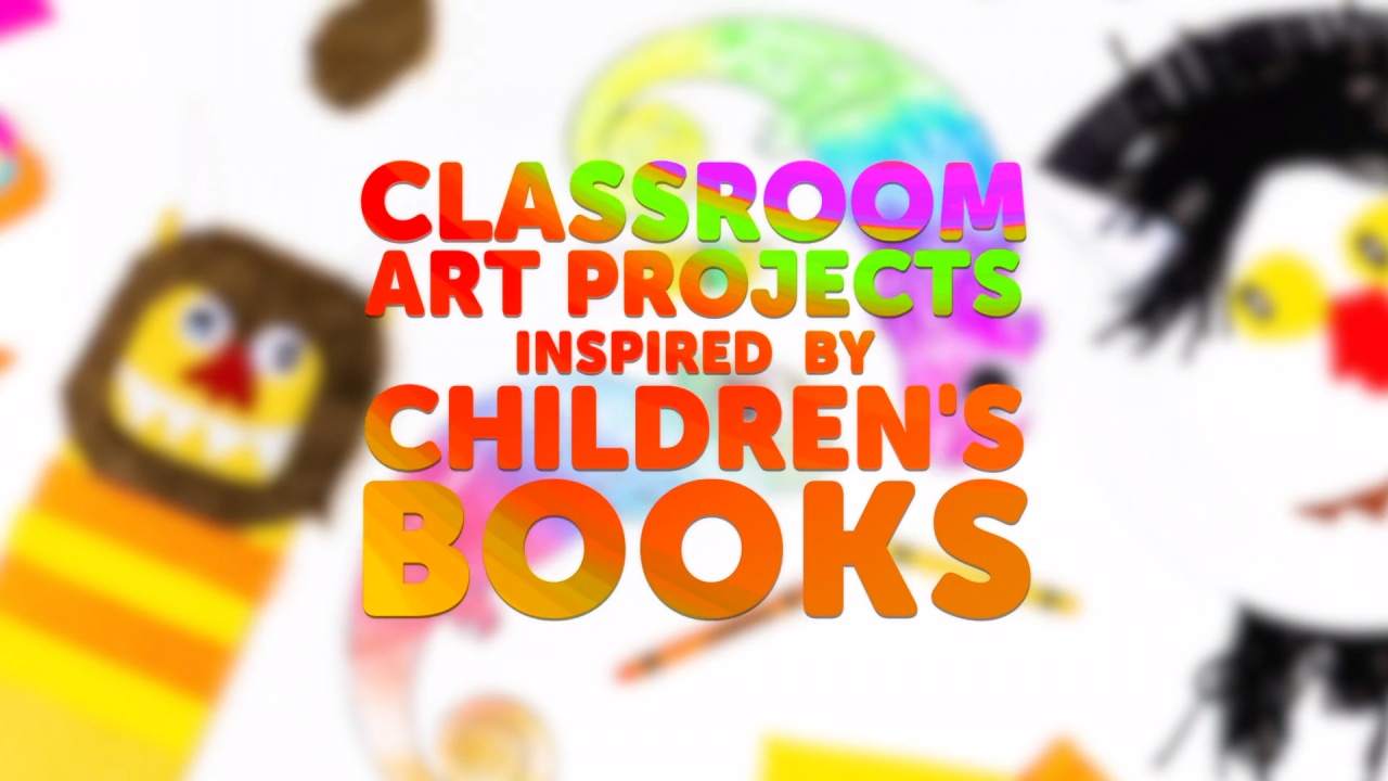 Arts And Crafts Ideas For Kids Inspired By Children S Books