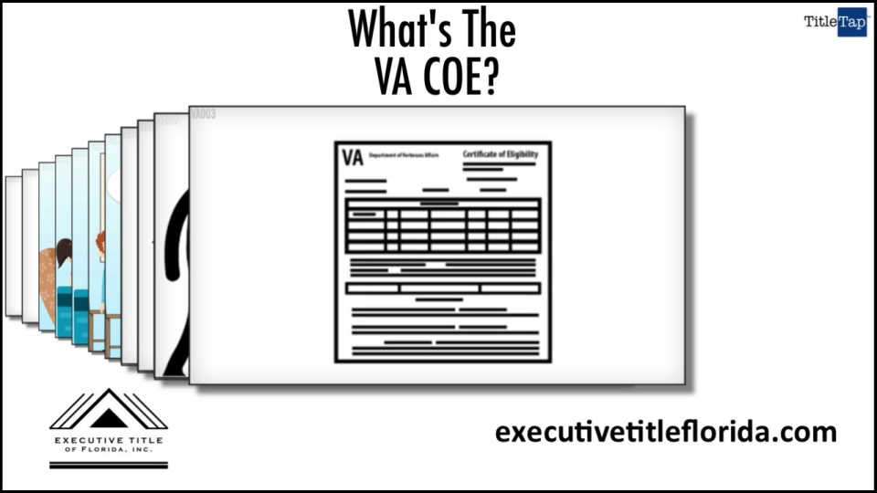 What Is A Certificate Of Eligibility Or Coe Executive Title Of