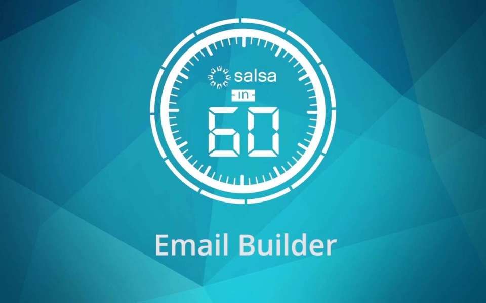 Wistia video thumbnail - Email Builder in Salsa Engage
