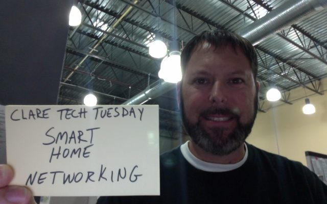 Clare Tech Tuesday: Smart Home Networking