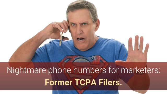 Wistia video thumbnail - Nightmare phone numbers for marketers: Former TCPA Filers