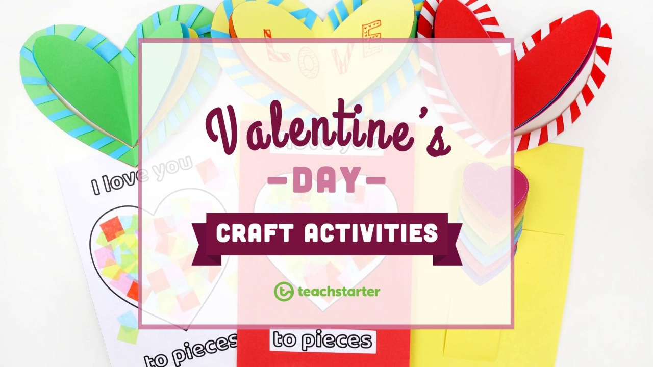 Sweet And Easy Valentines Day Craft Activities And Templates For Kids