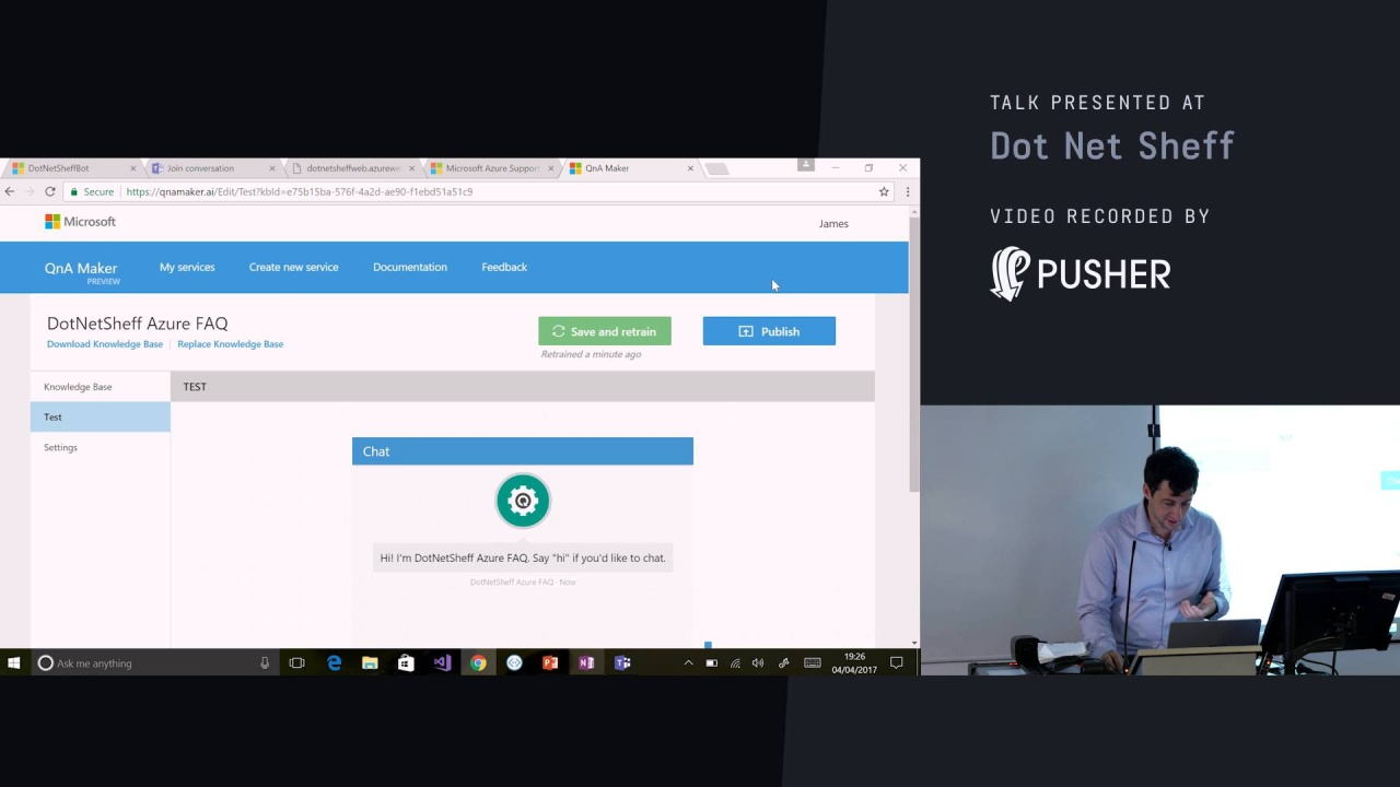 Become a Bot Builder with Microsoft Bot Framework